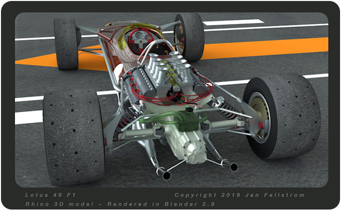 lotus 49 F1 - click on image to return