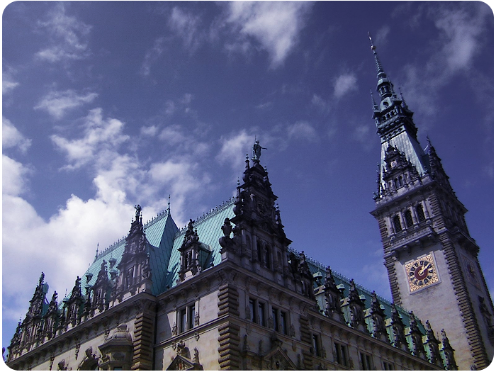 hamburg rathaus - click on image to return