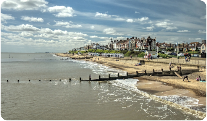 southwold beach, UK - click on image to return