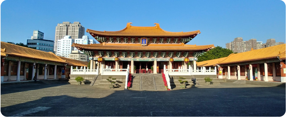 Confucian Temple, Taichung - click on image to return